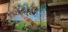 Kreta-Heraklion Murals, Travelling, Street Art, Painting, Wall Paintings, Painting Art, Mural Painting, Paintings, Painted Canvas