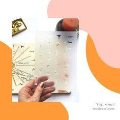 Plan your yoga practice in your bullet journal. #yoga #bulletjournal February Bullet Journal, Bullet Journal Spread, Bullet Journal Layout, Bullet Journal Inspiration, Journal Ideas, Time Management Techniques, Bullet Journal Stencils, Yoga Mantras, Yoga Positions