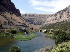 This is where Im going hiking this summer for 40 days. Wind River Canyon, WY