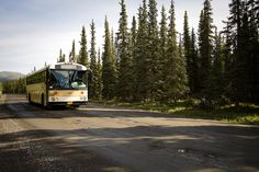Eielson Visitor Centre Shuttle Bus #Denali