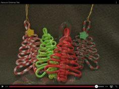 Leuk idee voor de kerst om met paracord te maken. Uitleg vind je hier: http://youtu.be/MySfHMnwFCs