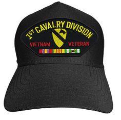 1ST CAVALRY DIVISION VIETNAM VETERAN Baseball Cap - Meach's Military Memorabilia & More