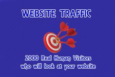 fxdiscount: send you 2000 Real Human Traffic 24hr unique for $5, on fiverr.com