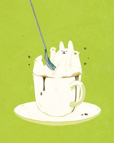 Latte ~ rabbit