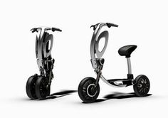 Inu foldable scooter