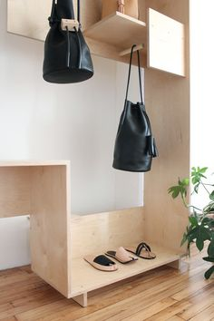 Building Block . positive negative shelf