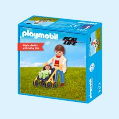njustudio_playmobil_real life edition_singledaddy Club, Curiosity, Real Life, Daddy, Thoughts, Cover, Playmobil, Slipcovers, Ideas