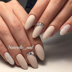 Wedding Nails-A Guide To The Perfect Manicure – NaiLovely Beige Nails, Nude Nails, Pink Nails, Hair And Nails, My Nails, Pink Wedding Nails, Cute Nail Art Designs, Nagellack Trends, Party Nails