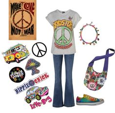 """""""Hello Hippie"""" by mmessenger on Polyvore"""