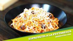 Espaguetis a la Puttanesca Macaroni And Cheese, Cooking, Health, Ethnic Recipes, Food, Noodle, Recipes, Spaghetti Recipes, Rice