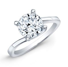 Carat round cut diamond engagement ring SI H (GRA) Bar Earrings, Simple Earrings, Gemstone Earrings, Crystal Earrings, Round Solitaire Engagement Ring, Diamond Solitaire Rings, Round Cut Diamond, Round Diamonds, Discount Diamond Rings