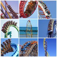 Cedar Point | Sandusky, OH went here on honeymoon :) love coasters!! Can't wait to take the kids!!