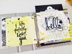 Love Paper: Yellow + Negro + InstagramAlbum