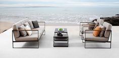 Garden easy by Broberg  Ridderstråle for Röshults. #disajn_magazine #interior #interiör #design #scandinaviandesign #scandinavianinterior #inredning #stockholm #sweden #outdoor #garden #summer #seat #table #brobergridderstrale #röshults