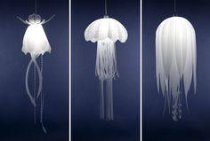 Sea Life lights-kinda creepy for a nursery but I like em. Even tho I hate those stupid things!!