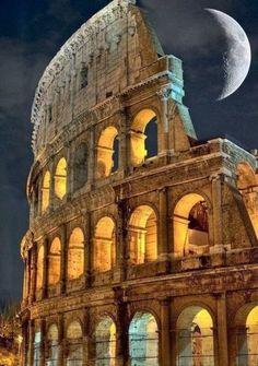 Roma <3 et pleine lune <3 ******