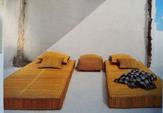 Grass mattresses from Moroccan Warehouse in Cape Town.
