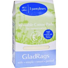 Now at our store GladRags Pantylin... Available here: http://endlesssupplies.store/products/gladrags-pantyliner-plus-cotton-organic-3-pack