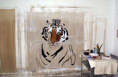 A  l`atelier-tigre