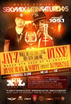 #NYC Meet JAY-Z March 9, 2013 at @XLLounge411 Alongside @DJPROSTYLE & more DUSSE BLACK LAUNCH PARTY 862-588-6899 4VIPS via @DCrespo_Ent  http://celebhotspots.com/hotspot/?hotspotid=27392&next=1