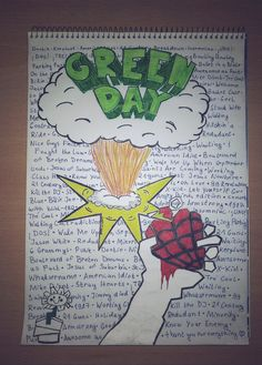 My Green Day fan art. What do you think? ;) @whatsername26 [keep the credit if you repin!!!]