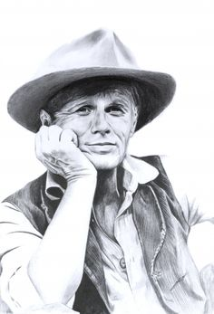 Richard Widmark by Annasofia