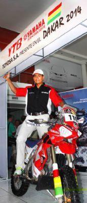 Con las metas bien definidas y con la seguridad de conseguirlo, fueron algunas de las lecturas hechas en la conferencia de prensa en la que se presentó a Fabricio Fuentes como piloto oficial del Yamaha Team Bolivia (YTB) .