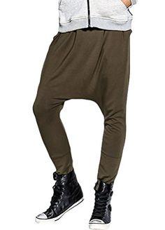 Minibee Men Harem Pant Hip Hop Pocket Pants Jogger Trousers Style 3 Army Green S Minibee http://www.amazon.com/dp/B01ASOFAMA/ref=cm_sw_r_pi_dp_UgXbxb1CF8NBN