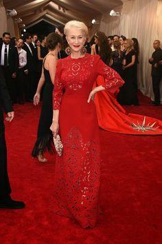 Helen Mirren in Dolce and Gabbana