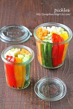 野菜が美味しく食べられるパリポリピクルス☆簡単常備菜 - ぱおのおうちで世界ごはん☆
