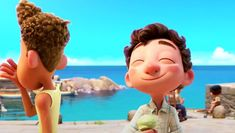 VIDEO – Pixar Releases First Trailer for 'Luca'