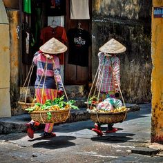Local ladies selling their fresh vegetables around the streets of Hoi An, Vietnam. ••••••••••••••••••••••••••••••••••••••••• WorldlyNomads.com •••••••••••••••••••••••••••••••••••••••••