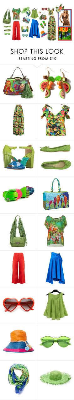"""""""mix"""" by ruslana-sadova ❤ liked on Polyvore featuring Patricia Nash, Rosie Assoulin, Privileged, Sun N' Sand, Sara Battaglia, Le Fate, Bliss and Mischief, Peter Pilotto, Sophie Anderson and Alexander McQueen"""
