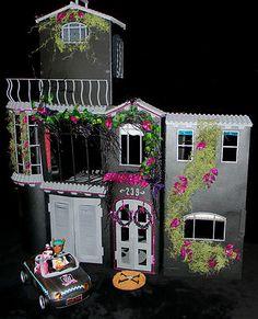 Monster High CUSTOM DOLL HOUSE OOAK 4 Toralei Scarah Screams Holt Deuce QUALITY | eBay