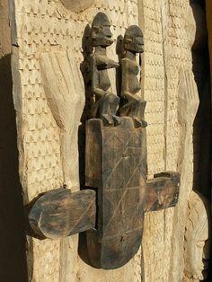 Intricate door lock, Mali