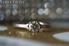 Engagement ring.