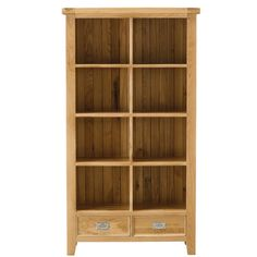 Orchard Oak Large Bookcase - Bookcases & Shelving - Home Office &…