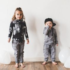 Your favorite cozy joggers - now mini-sized! Tiny boys and tiny girls alike can strut their stuff in these revamped sweats that allow for even the most active of play. Heavier weight Nylon/Spandex Ble