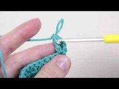 Základy háčkování - Poloslupek a dlouhý sloupek - Praktická žena Knit Crochet, Cross Stitch, Tutorials, Sewing, Knitting, Blog, Handmade, Sew Gifts, Detail