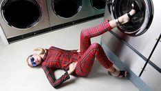 QWeekend Fashion Editorial PhotoShoot #laundromat #photography