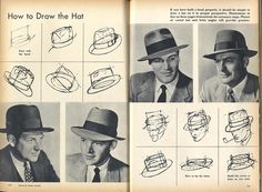 Headstart Hats: How to draw a hat