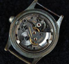 Vintage Bonheur Military Windup Swiss Made Mens Watch Working | eBay