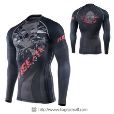 FIXGEAR CPD-B65 Compression Base Layer Skin-tight Shirts Training Gym MMA