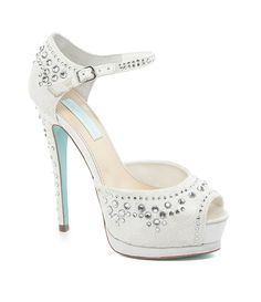 Blue by Betsey Johnson Doll Pumps