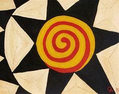 alexander calder tapestry art piece