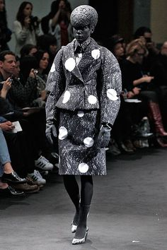 8 Classic Trends That Got Dialed Up To 11 In Paris #refinery29  http://www.refinery29.com/pfw-fall-2015-fashion-trends#slide-8  Anrealage