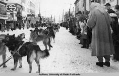 1939 Fairbanks Alaska Winter Carnival.  I was born in 1939.