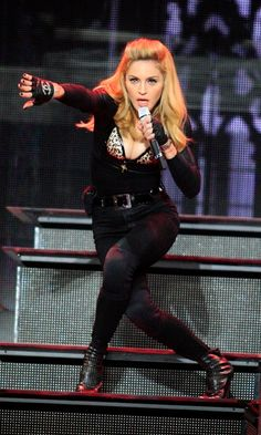 Madonna On Her MDNA Tour In Amsterdam, 2012