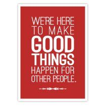 We're here to make good things happen...in Roofing.