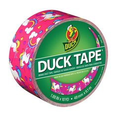 Color Duck Tape Brand Duct Tape, Unicorn